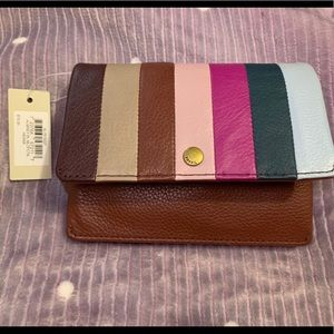 Fossil wallet Aubrey Henna